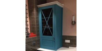 Мебель из натурального дерева в ванную комнату - экологически безопасно и уютно
