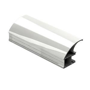 Престиж, открытый полированное покрытие серебро (150 грн. за пог.м.)